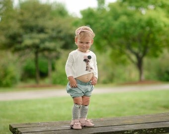 Baby Bloomer Shorts / Baby Girl Shorts / Baby Bloomers / Girls Shorts / Baby Shorts / Bubble Shorts / Toddler Shorts / Swirls / Hipster Girl