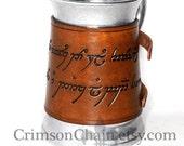 Tolkien-Inspired Mugs - The One Mug - by Crimson Chain leatherworks - SCA Larp Renactment Garb Costume