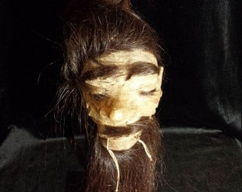Vintage Shrunken Head