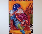 OLD KING COLE - Print from Original Art