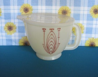 Tupperware Mix N Stor - with Lid -  Mixing Bowl - 8 Cup - Vintage 1970's