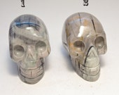 Picasso Jasper Crystal Skull 2 inches 50mm 2 left! Nurture, Trust, Loyalty, Creativity