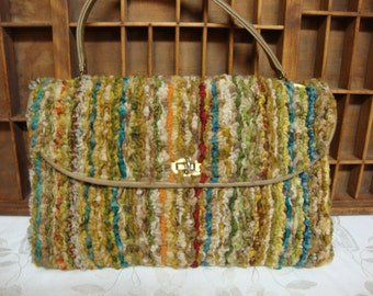J R Originals Carpet Bag Purse