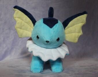 Chibi Vaporeon pokemon plushie