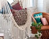 Hippy Hammock // Macrame Chair