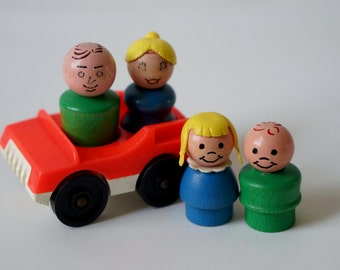 Fisher Price Family and Two Seater Car