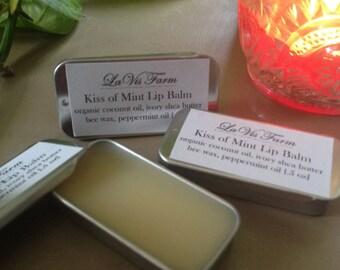 Kiss of Mint All Natural Lip Balm
