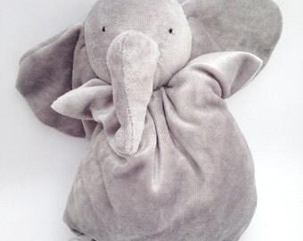 Baby elephant bamboo organic cotton