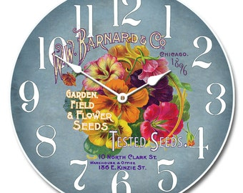 Garden Seeds Clock Wall Clock 2