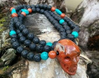 108 Bead Mala Style Necklace (SALE!!)