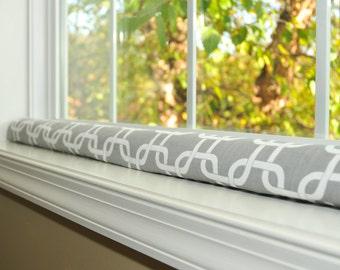 Door draft stopper wind guard excluder window snake by for Door wind stopper