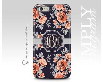 iPhone 6 Case , iPhone 6s Case , iPhone 7 Case , iPhone SE Case , Galaxy Cases , Galaxy S7 Case , S7  Edge , Galaxy S6 , Chiq Floral Mongram