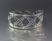 Criss Cross Woven Bracelet Tutorial