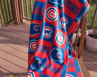 Chicago Cubs Fleece Throw