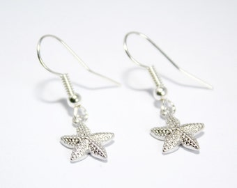 Starfish Earrings, Seaside Jewellery, Nautical Jewellery, Nautical Style, Nautical Earrings, Starfish Jewellery, Ocean Jewellery, Beach Chic
