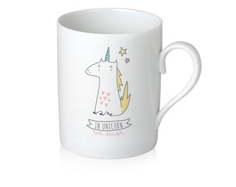 "Mug ""In Unicorn We Trust"""