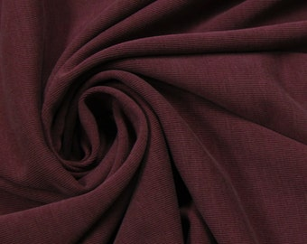 Wine Light Modal Poly Sand Wash Jersey Cupro Knit Fabric by the Yard - Style 681