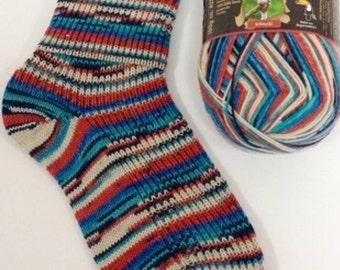 4ply sock yarn 100g from Opal Rainforest range - shade 9245 'Darling'