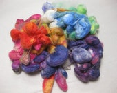 Wonderful Land of Oz - Handdyed Silk cocoons