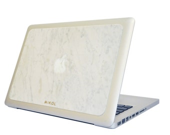 Real Marble Macbook Cover