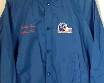 SALE!!! VINTAGE Chalk Line Denver Broncos jacket ~ Sz M ~ Lightweight jacket