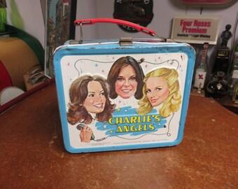 Vintage 1978 Charlie's Angels Metal Lunch Box Aladdin Industries