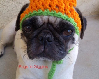 Halloween-Halloween for dogs-Pumpkin hat-Pugs-Dog costumes-halloween hats for dogs