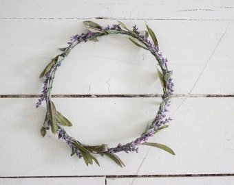 Simplistic Lavender Herb Crown
