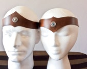 Unisex Leather Crown