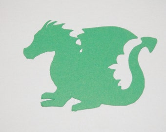 Dragon Die Cuts Paper Punches Party Favors 25 pieces you choose size and color