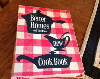 Better Homes And Gardens New Cook Book 1950s