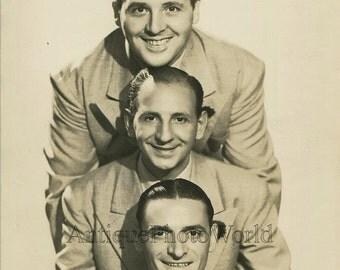 Air Lane Trio jazz music band antique photo