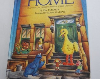 Vintage Children's Book, There's No Place Like Home