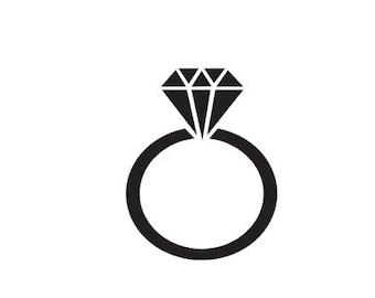 Diamond Ring Stickers