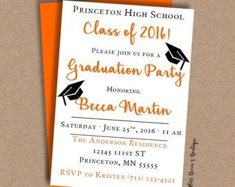 Graduation Party Invitation // DIY
