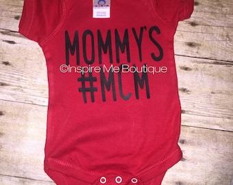 Mommy's #MCM - momma's boy - baby boy -mcm - boy mom - mommy's boy