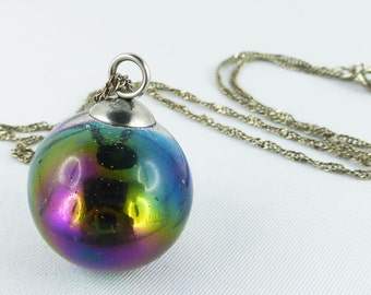 595 silver, necklace, Resin