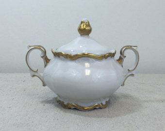 Sugar Bowl in Golden Lark by Mitterteich