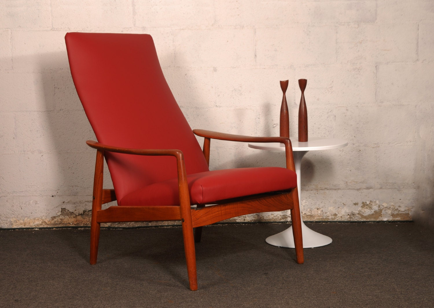 Mid Century Rocking Lounge Chair By Svend Langkilde by midcentury8