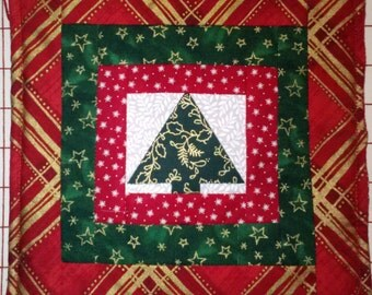 Christmas Tree Potholder