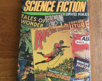 Vintage Science Fiction Book, PICTORIAL History of SCIENCE FICTION, Science Fiction History, Photo History of Science Fiction, Sci Fi Book