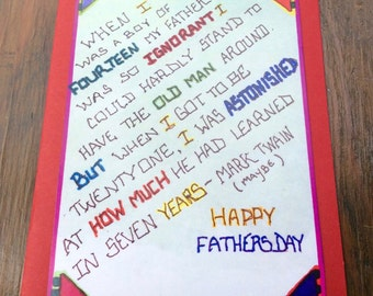 Good Words for a Good Dad