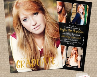 Haylee Graduation Announcement