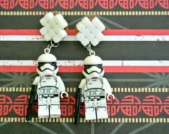 First Order Stormtrooper Earrings