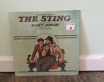 The Sting movie soundtrack vinyl record