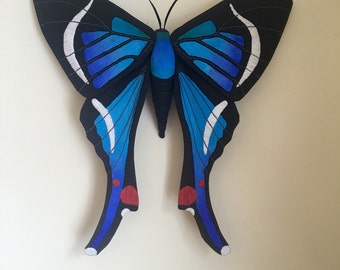 Rhetus Riodinidae Butterfly Soft Sculpture
