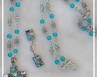 Plus size jewelry set