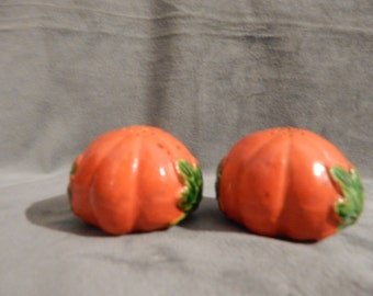 Vintage 1950's TOMATO Salt and Pepper Shakers