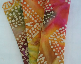 Eye Pillow/Free Ear Plugs/Cotton Boho Tie Dyed Lavender/Flax Seed Relax Spa Bridal Holiday Gifts