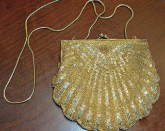 Vintage Ladies Beaded Purse/Clutch